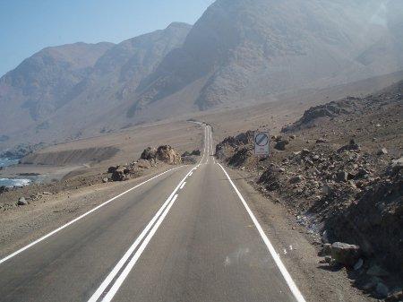 Ruta 5 Acnafagasta-Iquique